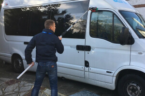 Quality Property Care Ltd. Bus Cleaning
